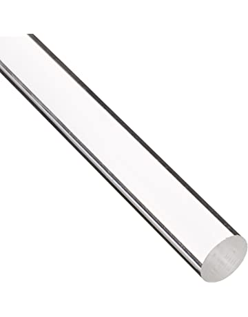 amazon plastics raw materials industrial scientific 2 X 4 Horse Fence acrylic round rod uv resistant transparent clear meets ul 94hb 1