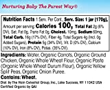 Earth's Best Junior Baby Food Organic, 6 Ounce Jars