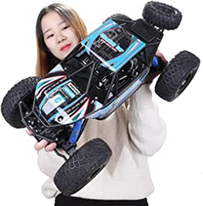 1:10 Toy Semi Off Road High Speed Model Wireless Remote For Children Kids Gift RC Control Racing Buggy Suspension Truck Tire Shock Absorbers Powerful Battery Aggressive Drifting/Stunts Car