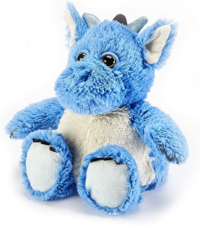 Warmies Plush Heat Up Microwavable Soft Cuddly Toys with A Lavender Scent, Marshmallow Bunny