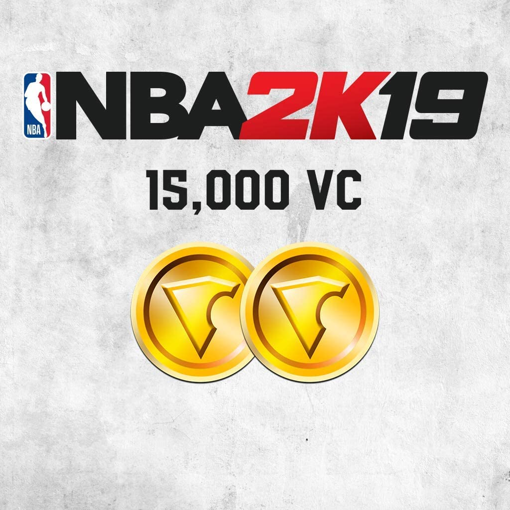 Amazon com: NBA 2K19: 15000 VC Pack - PS4 [Digital Code