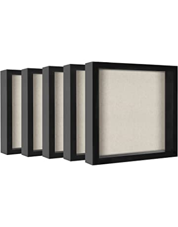 c6254bff5b3 Americanflat Shadow Box Frames with Soft Linen Backs - Perfect to Display  Memorabilia