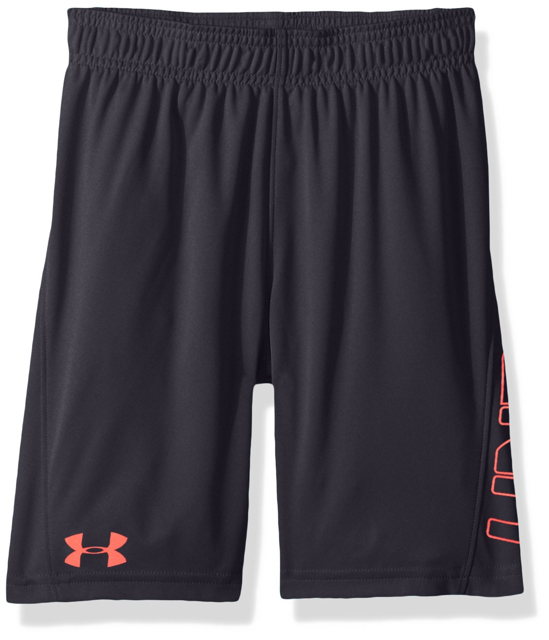 Under Armour Boys' Little Kick Off Short, Anthracite, 6 by Under Armour