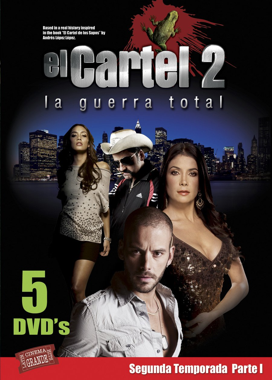 Cartel-Season 2 Pt 1: Guerra Total Reino Unido DVD: Amazon ...