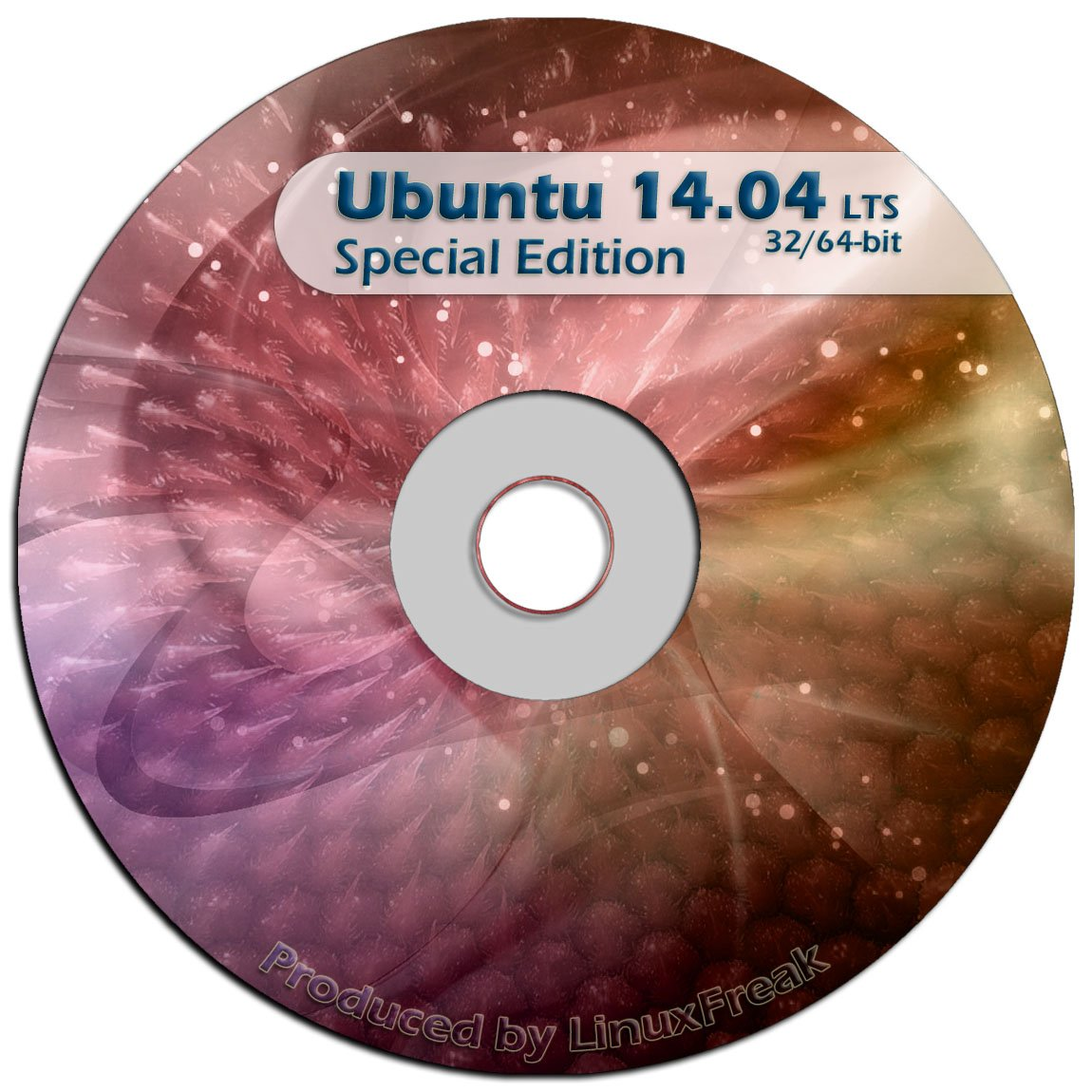 Ubuntu Linux 14.04 Special Edition DVD - Includes both 32-bit and 64-bit Versions - Long Term Support by LinuxFreak