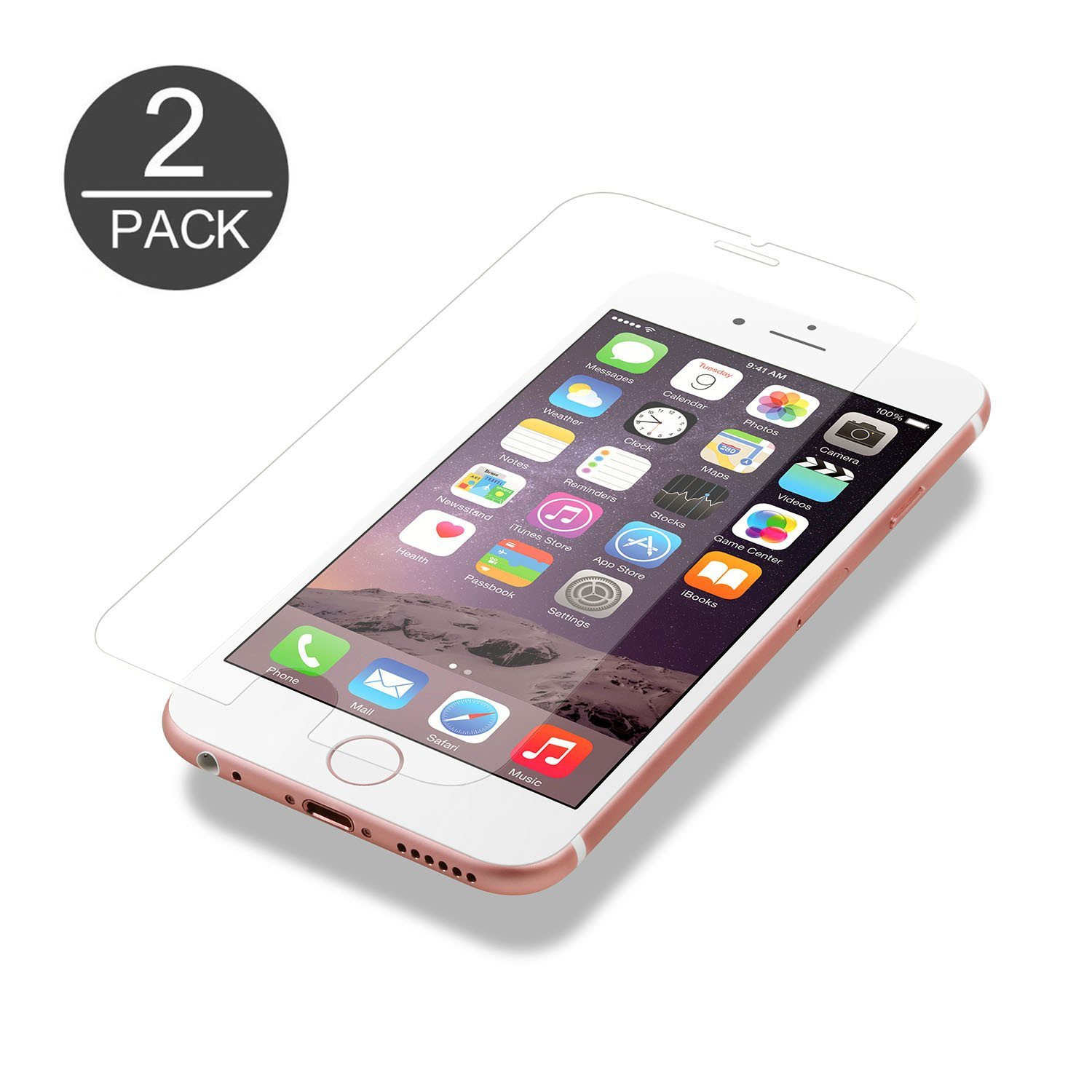 """Iphone 6/6S Screen Protector Kabb Iphone 6/6S Tempered Glass 4.7"""" Screen Prot.. 14"""