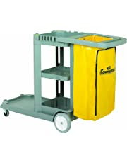 Continental 184GY Standard Janitorial Cart (Grey)
