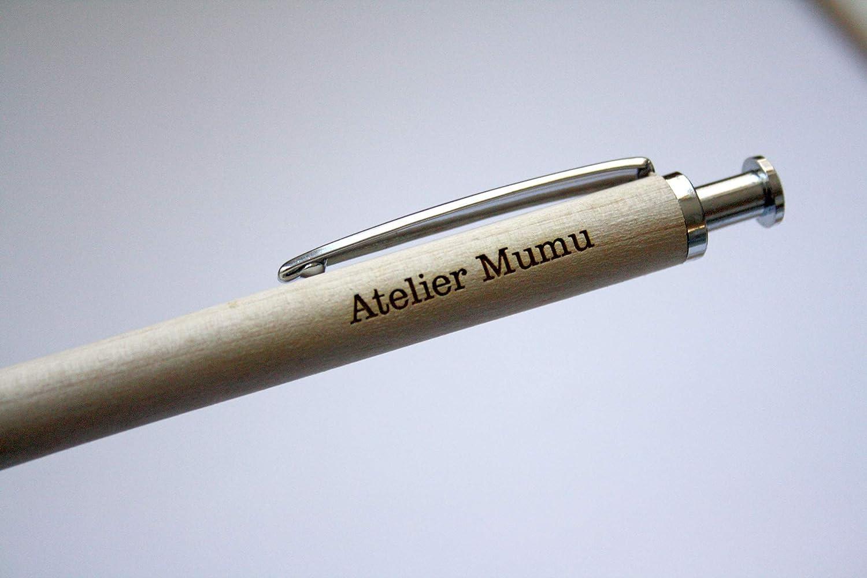 Penna e cassetta incisa regalo personalizzato con vostro testo