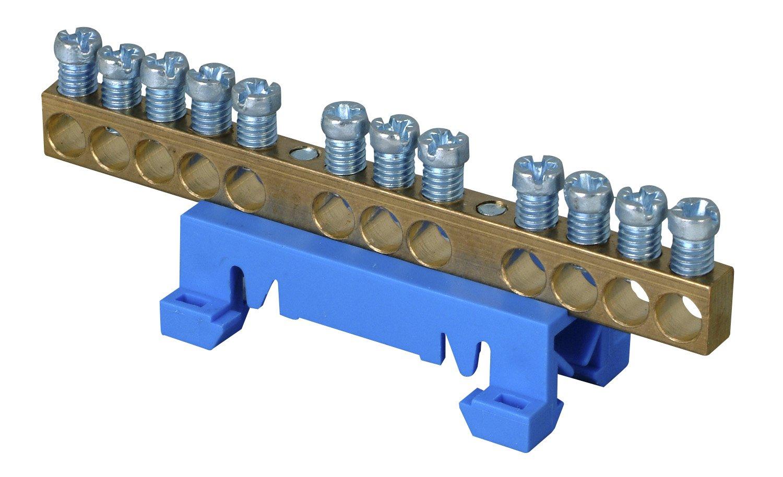 Kopp 250000001 Neutralleiter-Klemme mit Schnellbefestigung für die ...