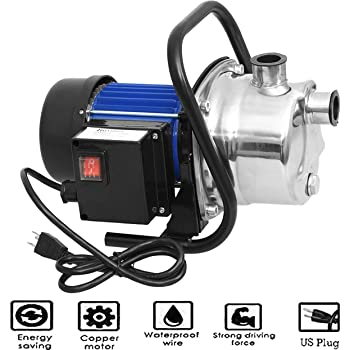 1 Hp Stainless Steel Shallow Well Pump And Tank With