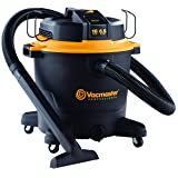 "Vacmaster Professional - Professional Wet/Dry Vac, 16 Gallon, Beast Series, 6.5 HP 2-1/2"" Hose (VJH1612PF0201), Black"