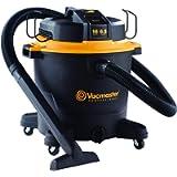 Vacmaster Professional - Professional Wet/Dry Vac, 16 Gallon, Beast Series, 6.5 HP 2-1/2' Hose (VJH1612PF0201), Black