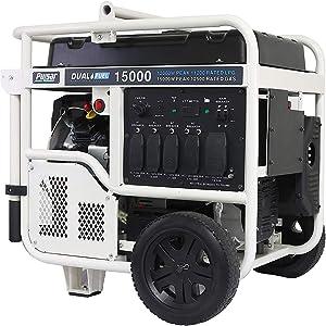Pulsar PG15KVTWB Heavy Duty Portable Dual Fuel Generator