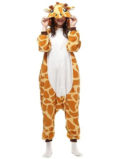 d43af9b974 Pigiama da Adulto a forma di Animale Costume da Cosplayer Halloween  Carnevale Party (S,