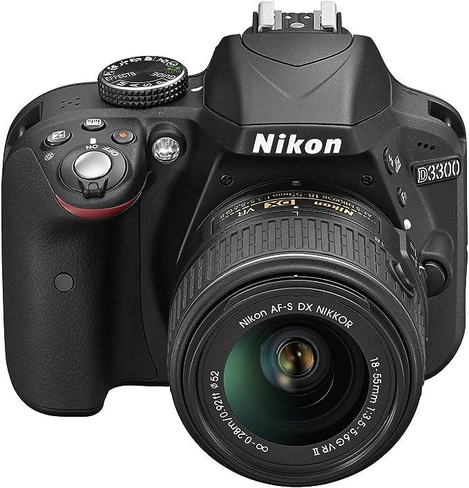 Nikon D3300 Cámara Digital réflex 24,2 Mpix: Amazon.es: Electrónica