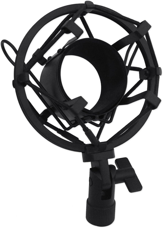 Rockville RCM02 Pro Studio Recording Condenser Microphone Mic+Metal Shock Mount