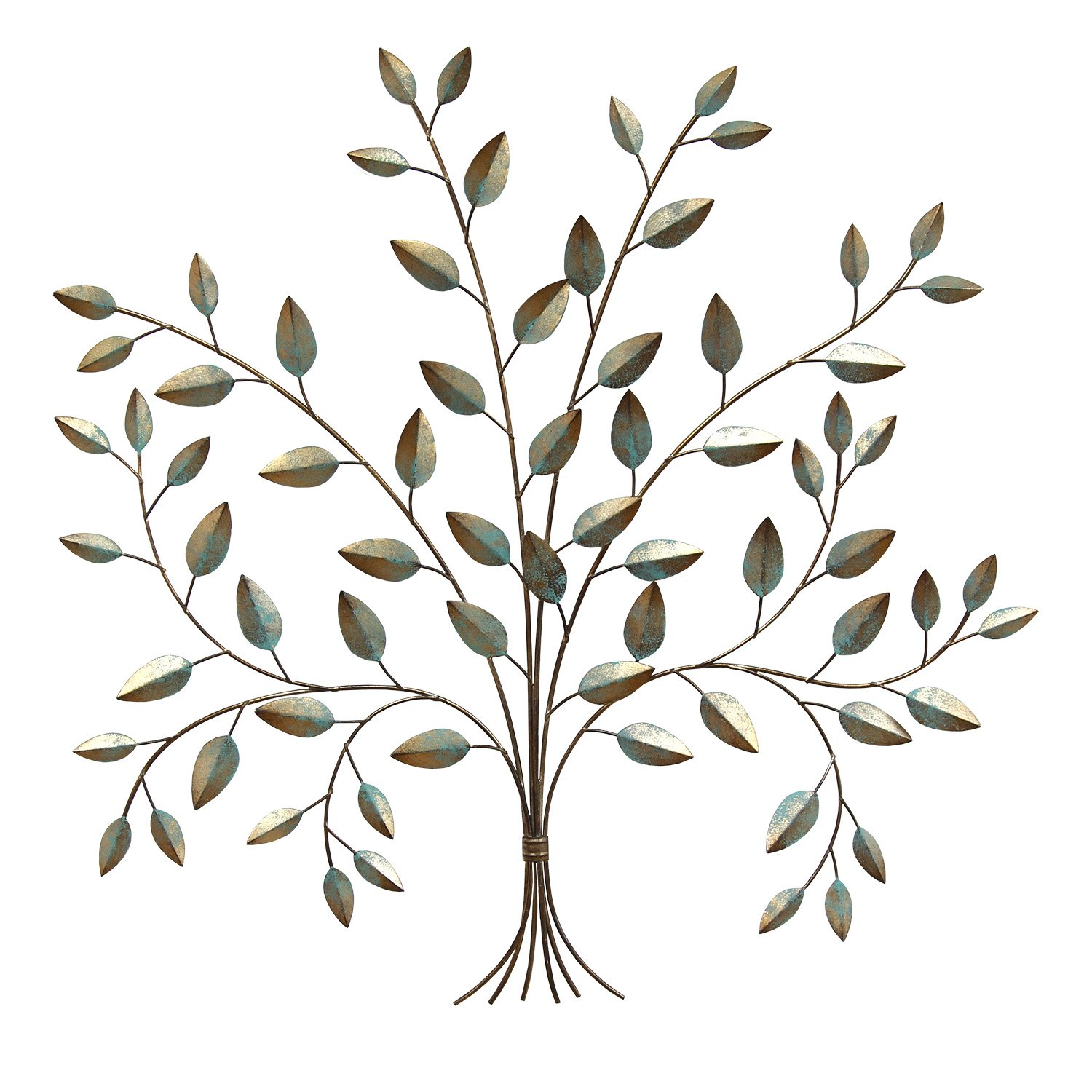 Stratton Home Decor S07692 Tree of Life Wall Decor, 24.00 W x 0.50 D x 24.00 H, Patina