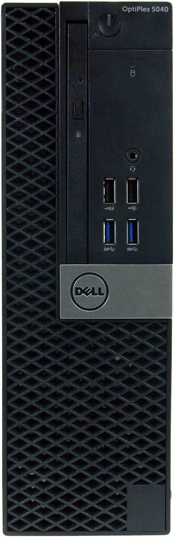 Dell Optiplex 5040-SFF, Core i5-6500 3.2GHz, 8GB RAM, 2TB Hard Drive, DVD, Windows 10 Pro 64bit (Renewed)