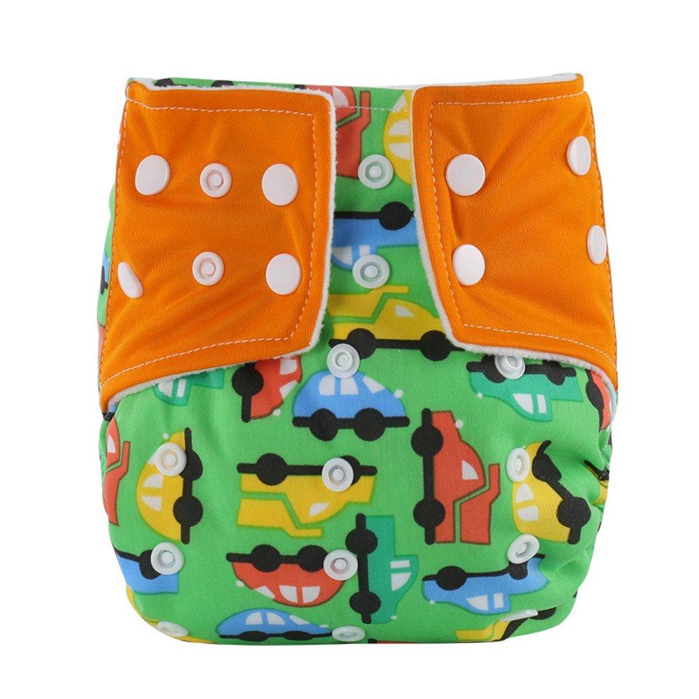 WeiterVor Pack de 2 Pañal Bañador Reutilizable Para Bebé impermeable: Amazon.es: Bebé