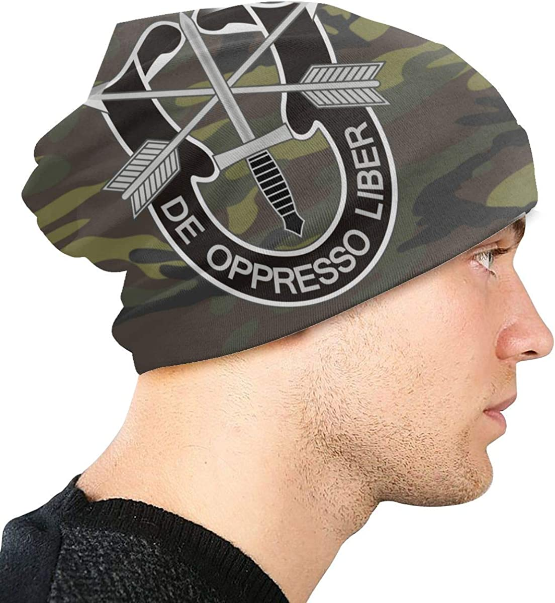 De Oppresso Liber Unisex Warm Hat Knit Hat Skull Cap Beanies Cap