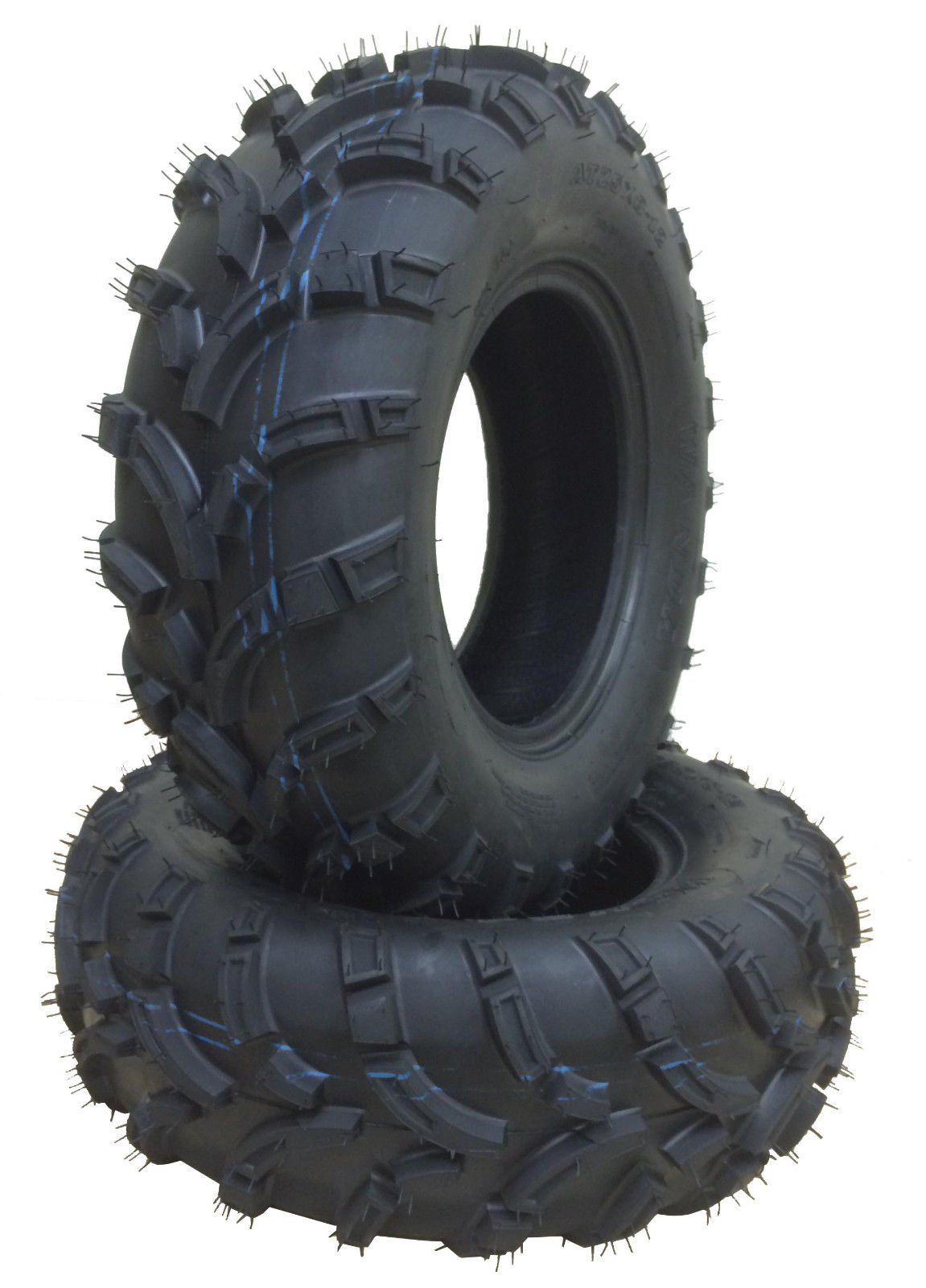 4 New WANDA ATV Tires AT 25x8-12 Front & 25x10-12 Rear /6PR -10243/10244 6PR P373 by Skroutz by Wanda (Image #4)