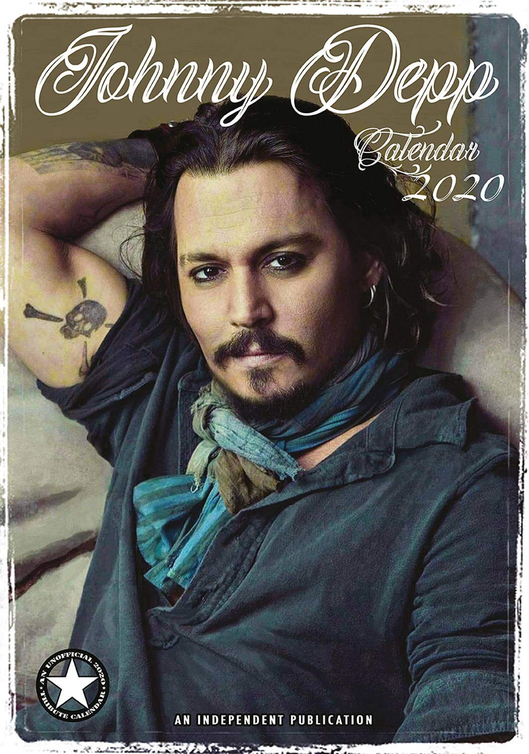 Johnny Depp Calendar - Calendars 2019 - 2020 Wall Calendars - Movie Wall Calendar - Sexy Men Calendar - Poster Calendar - 12 Month Calendar by Dream (Multilingual Edition) by Dream Publishing