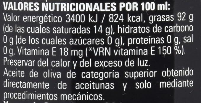 Santa Teresa Aceite de Oliva Virgen Extra Arbequina - 500 ml: Amazon.es: Alimentación y bebidas