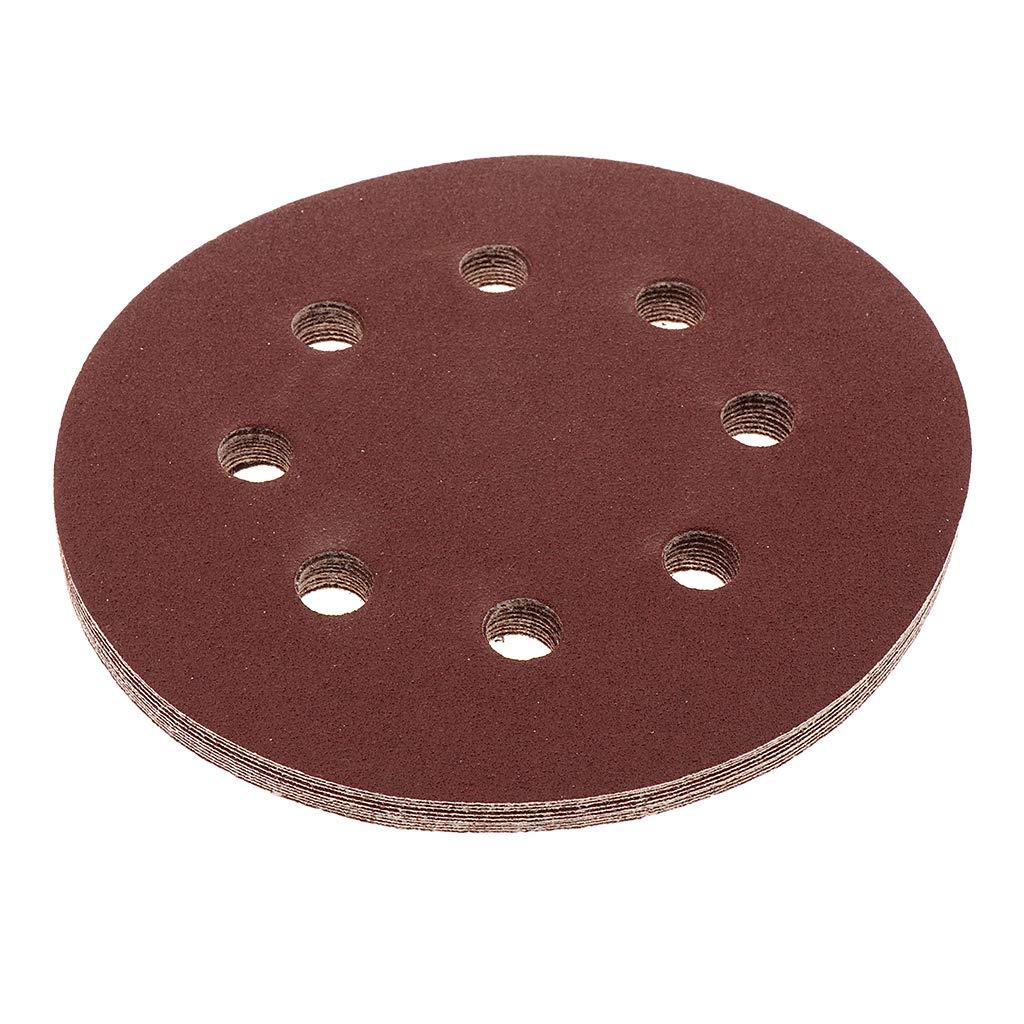 320 Fenteer 10pcs Disques de flocage Disques abrasifs Outil de Meulage