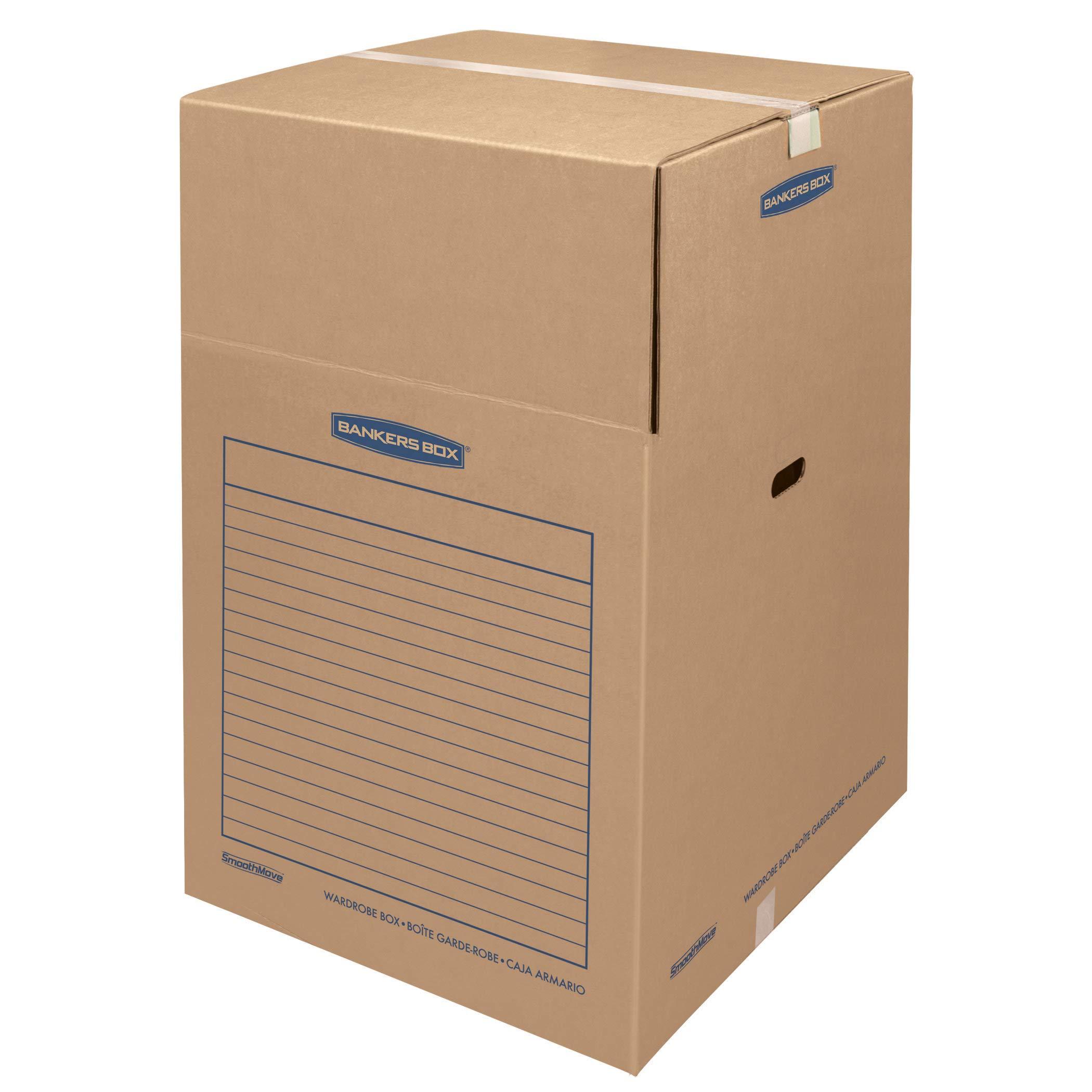 Bankers Box SmoothMove Wardrobe Box Large, 3 Pack (8811001)