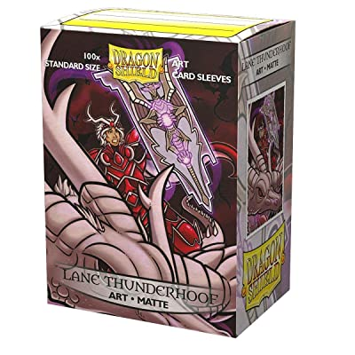 Sleeves: Dragon Shield Limited Edition Matte Art: Lane Thunderhoof Portrait (100): Toys & Games