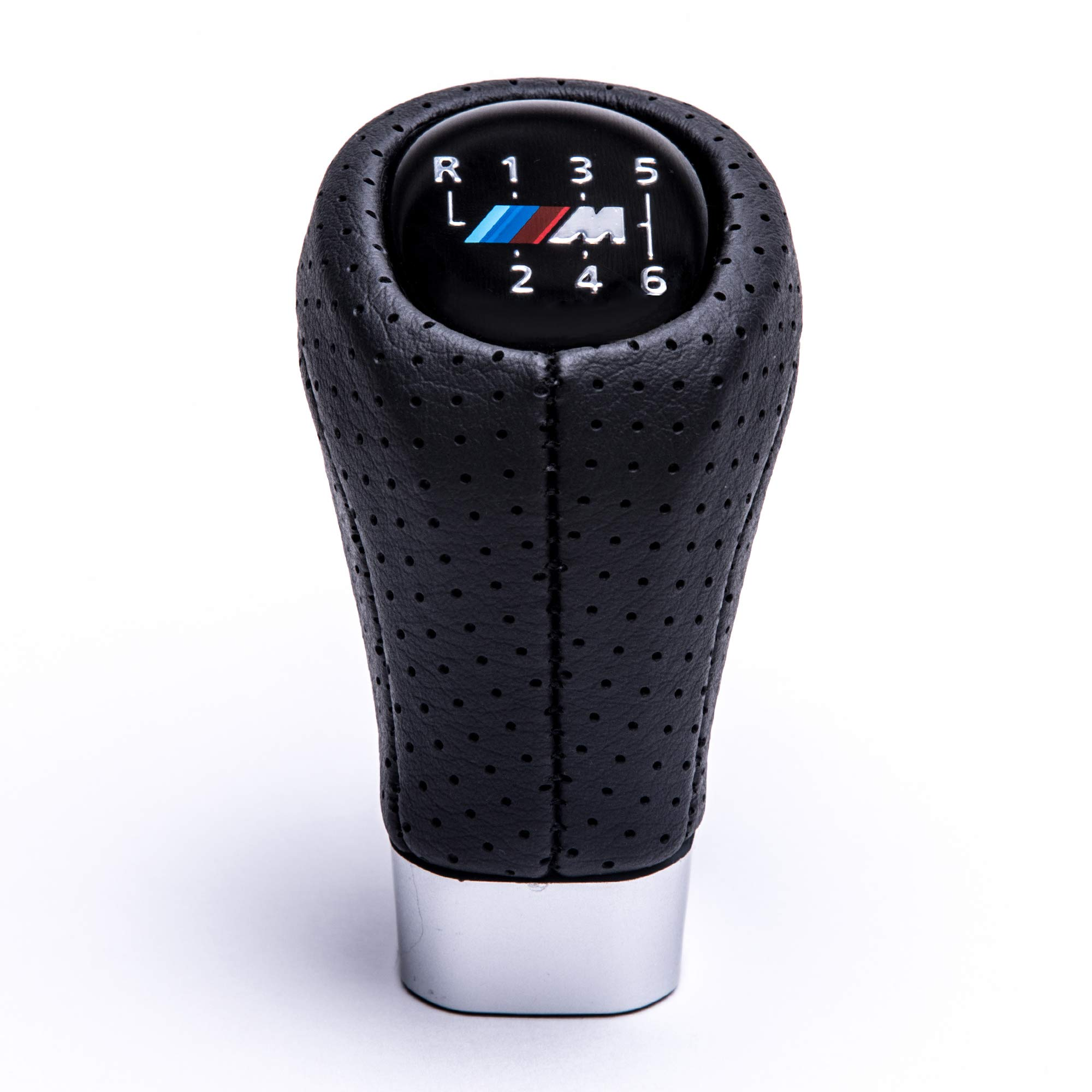 Sourcingmap 5 Speed Gray Fiber Carbon Pattern Car Gear Stick Shift Knob Handle Shifter Lever