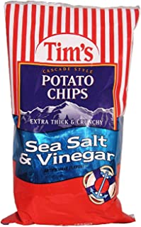 product image for Tim's Cascade Style Potato Chips, Sea Salt & Vinegar, 8 Ounce