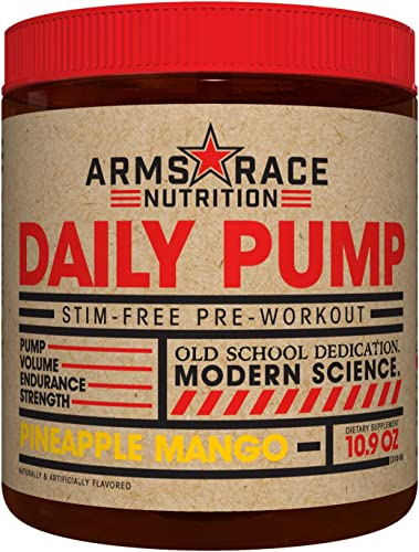 Arms Race Nutrition Daily Pump – Pineapple Mango
