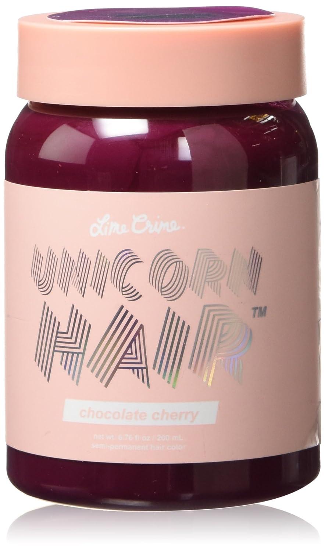 Lime Crime Unicorn Hair - Strawberry Jam (Full Coverage) Fuchsia Semi Permanent Hair Dye. Vegan Hair Color (6.76 fl oz/200 mL).