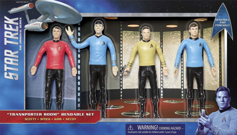 Star Boys Valentines Gift Alternative Transporter Room Trek The Original Series Bendable Gift Box Set NJ