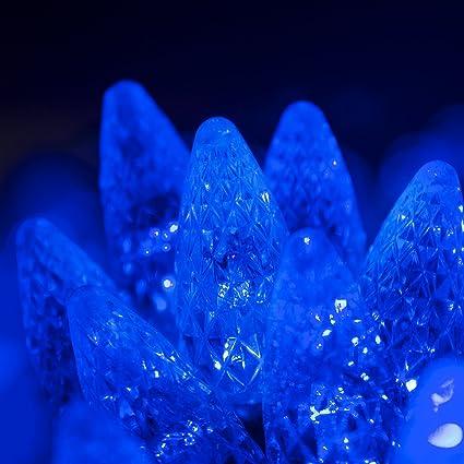 6dbc1f53aab Amazon.com  70 C6 Blue LED String Lights