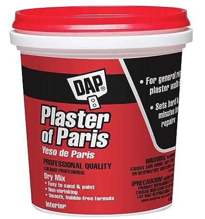 Dap 10308 4 Lb Plaster of Paris Exterior - - Amazon.com on stencil of paris, mixed media of paris, watercolor of paris, home depot plaster paris, fabrics of paris, sculpture of paris, platre de paris, clay of paris, wrought iron of paris, painting of paris,