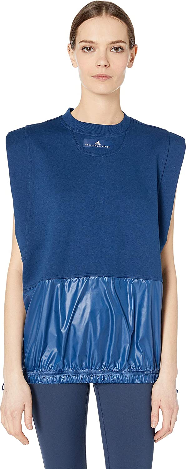 Mystery bluee S17 Adidas by Stella McCartney Women's Sleeveless
