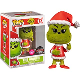 Funko POP The Grinch Dr. Seuss #12 Flocked Special Edition
