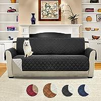 Umiwe di Divano, Robusta Resistente all' Acqua Spessore Trapuntato Sectional Couch Covers con Elastici di Fissaggio Cinghie, Tre Dimensioni per Poltrona/Loveseat/3Cuscino Divano Slipcovers