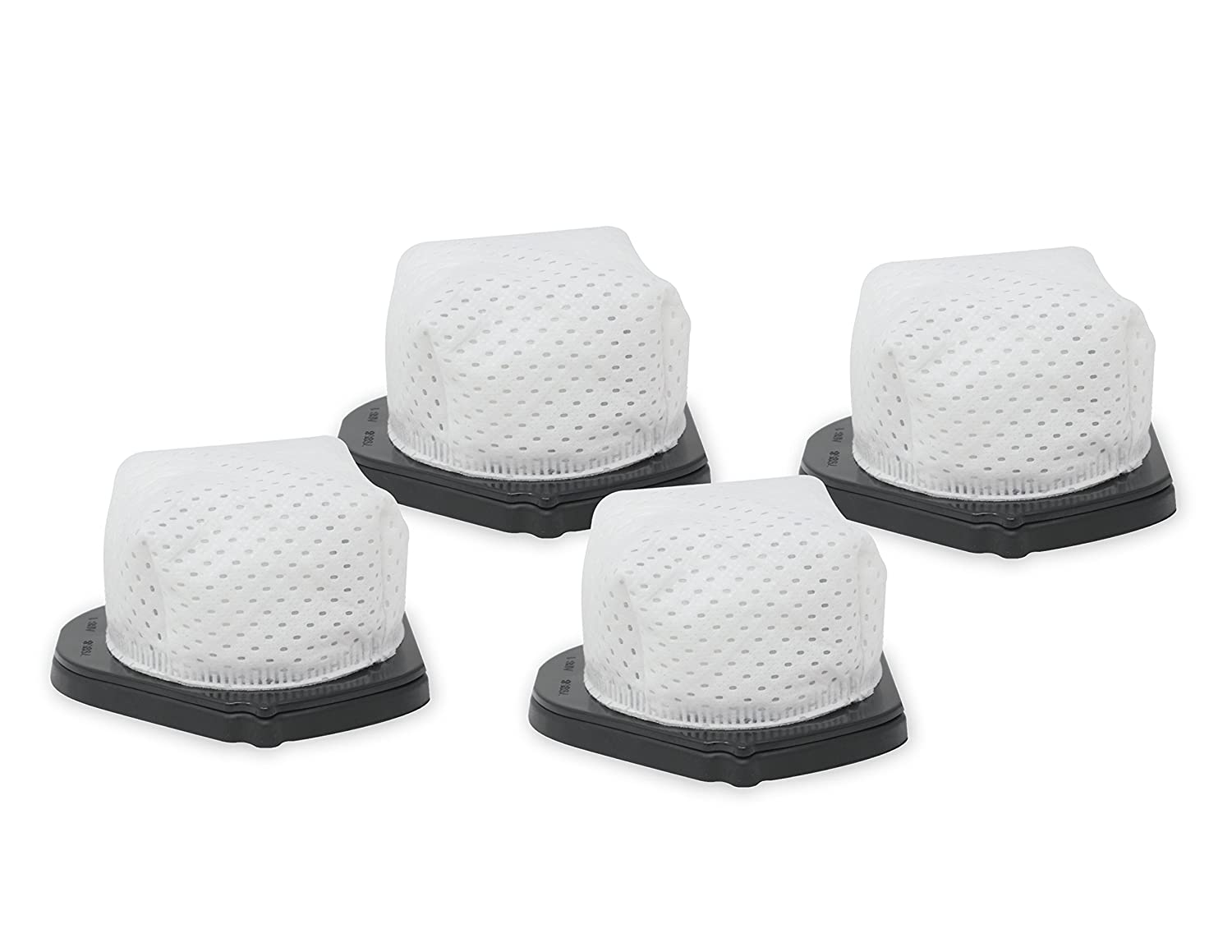 4-Pack Vacuum Dust Cup Filters Compatible with Shark VX33 and SV769 Cordless Hand Vacuums Compare to Part # XF769 Fette Filter
