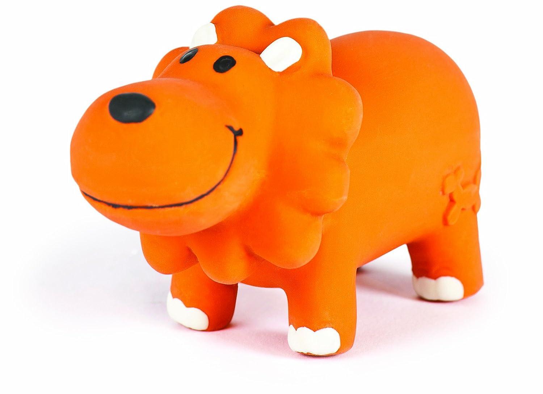 Charming Pet Lil Roamers Pet Squeak Toy, Large, Lion