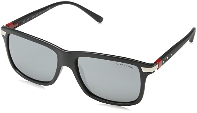 Polo Ralph Lauren 0PH4084 Gafas de sol, Matte Black, 57 para ...