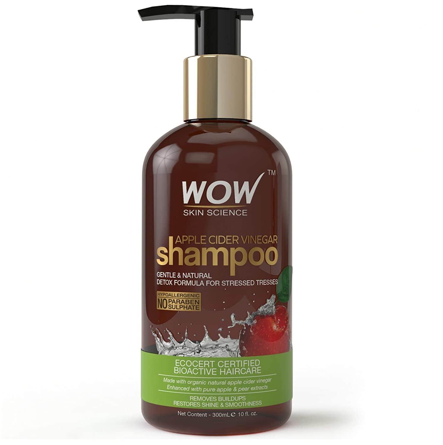 WOW Apple Cider Vinegar Shampoo - 300 mL