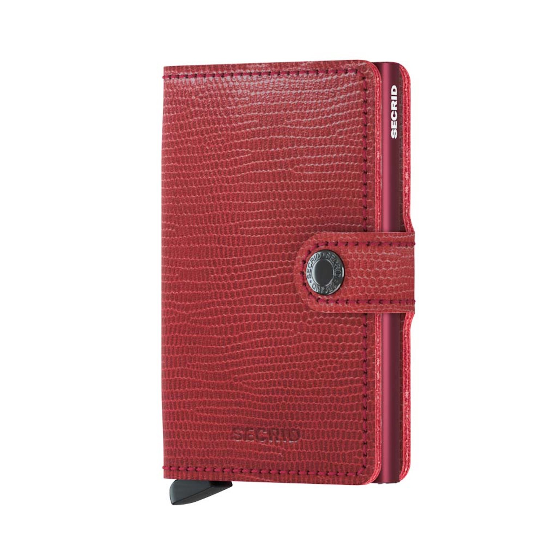 Secrid Mini Wallet Portemonnee Rango Red Bordeaux 0370991
