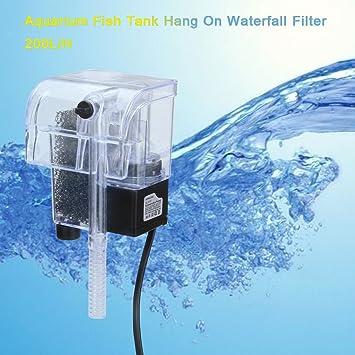 Excelvan 200L/H Filtro externo para acuario filtro biochimique/Física suspendida 2 W: Amazon.es: Productos para mascotas