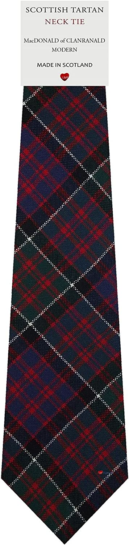 Boys Clan Tie Made in Scotland MacDonald of Clanranald Ancient Tartan
