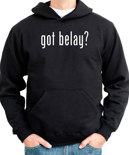 ¿Got amarrar? Sudadera con capucha para hombre negro extra-large