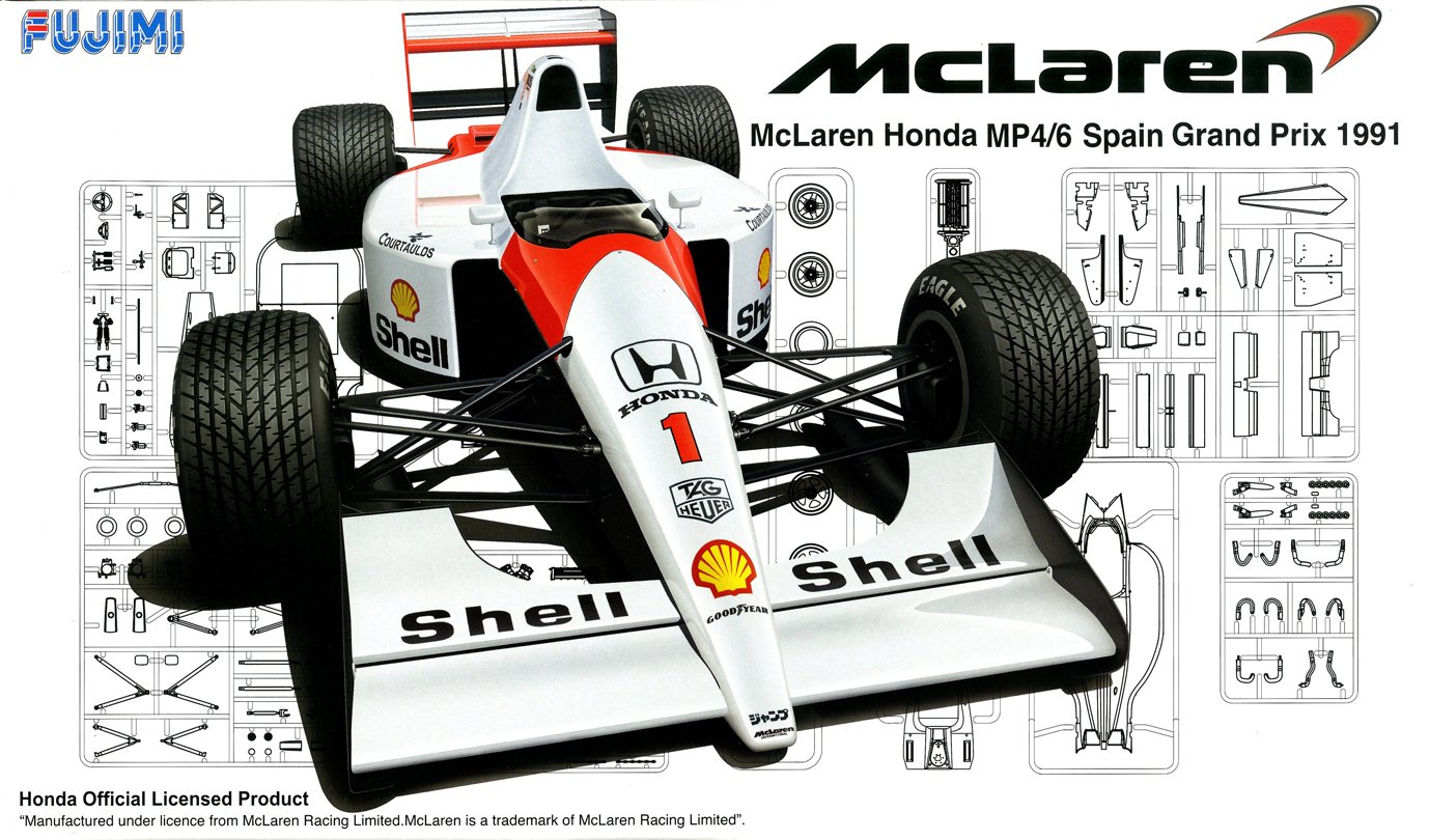 1/20 Grand Prix series SPOT No.34 McLaren MP4 / 6 1991 Spain GP (japan import)