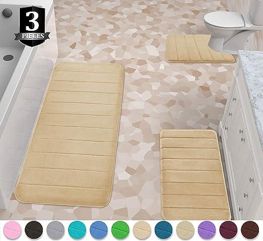 memory foam bath mat 24x40